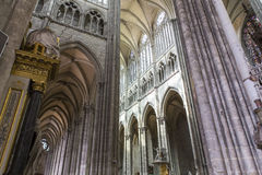 Cathedral of Amiens, picardie, france Royalty Free Stock Images
