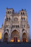 Cathedral of Amiens Stock Photos