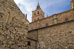 Cathedral. Ancient Astorga cathedral, Leon,  Spain Stock Photos
