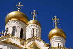 The Cathedral of the Annunciation. In Kremlin stock photography