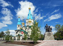 Cathedral of the Annunciation in Blagoveshchensk Royalty Free Stock Photos