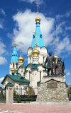 Cathedral of the Annunciation in Blagoveshchensk Royalty Free Stock Images