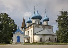 Cathedral of the Annunciation in Gorokhovets. Vladimir Oblast. Russia Royalty Free Stock Photo