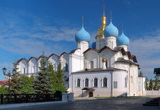 Cathedral of the Annunciation in Kazan Kremlin Royalty Free Stock Photography