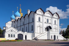 Cathedral of the Annunciation in Kazan Kremlin Stock Images