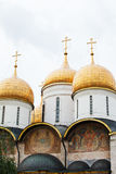 Cathedral of the Annunciation in Kremlin Stock Images