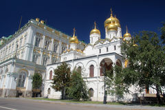 The Cathedral of the Annunciation, Kremlin, Moscow Stock Images