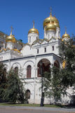 The Cathedral of the Annunciation, Kremlin, Moscow Royalty Free Stock Images