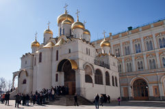 The Cathedral of the Annunciation in Kremlin, Moscow, Russia Stock Photography