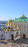 Cathedral of the Annunciation in the Kremlin. View from above. M Stock Photo