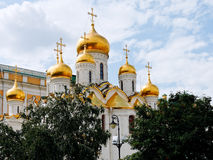 Cathedral of the Annunciation in Moscow Kremlin Stock Image