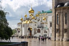 Cathedral of the Annunciation - Moscow Royalty Free Stock Photos