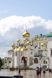 Cathedral of the Annunciation - Moscow Stock Photo