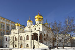 Cathedral of the Annunciation, Moscow, Russia Stock Photo