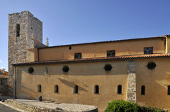 Cathedral of Antibes in France Royalty Free Stock Images
