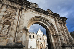 Cathedral in Antigua Stock Photos