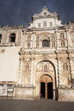 Cathedral in Antigua Stock Photography