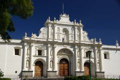 Cathedral in Antigua, Guatemala Stock Photo