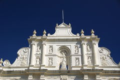 Cathedral in Antigua, Guatemala Royalty Free Stock Image