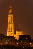 Cathedral Antwerp Royalty Free Stock Photos
