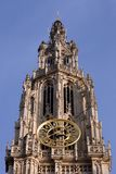 Cathedral in Antwerp, Belgium stock photo