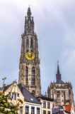 Cathedral antwerp belgium Royalty Free Stock Images