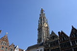The cathedral of Antwerp Royalty Free Stock Photos