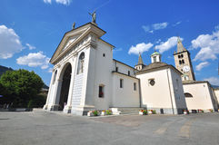 Cathedral of Aosta Stock Photos