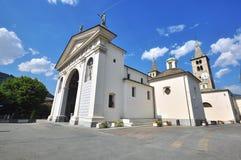 Cathedral of Aosta Stock Photos