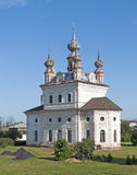 Cathedral of the Archangel Michael in Yuriev-Polsky. Cathedral of the Archangel Michael in the same monastery in Yuriev-Polsky, Russia royalty free stock photo