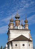Cathedral of the Archangel Michael in Yuriev-Polsky. Cathedral of the Archangel Michael in the same monastery in Yuriev-Polsky, Russia stock image