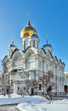 Cathedral of the Archangel, Moscow Stock Images