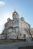 The Cathedral of the Archangel in Moscow Kremlin Royalty Free Stock Photos