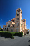 Cathedral of the Archdiocese of Panagia Catholics Limassol Royalty Free Stock Images