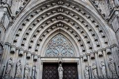 Cathedral architecture detail Royalty Free Stock Photo