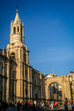 Cathedral of Arequipa Stock Photography