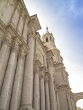 Cathedral of Arequipa, Peru Royalty Free Stock Image