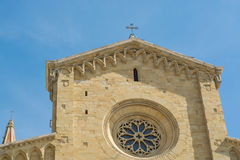 Cathedral of Arezzo Stock Image