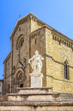 Cathedral of Arezzo. Arezzo Cathedral is a Roman Catholic cathedral in the city of Arezzo in Tuscany, Italy. It is located on the site of a pre-existing Palaeo Royalty Free Stock Photos