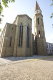 Cathedral of Arezzo Tuscan cathedral church glimpse views Royalty Free Stock Images