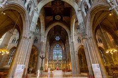 Cathedral in Armagh City. St Patrick's Catholic Cathedral, Armagh Royalty Free Stock Photos