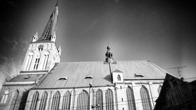 The Cathedral. Artistic look in black and white Stock Photography
