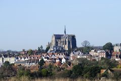 Cathedral at Arundel. Sussex. UK Royalty Free Stock Photography