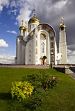 Cathedral of Ascension. Russia, Magnitogorsk, Cathedral of the God Ascension Stock Images