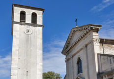 Cathedral Assumption of the Blessed Virgin Mary in Pula, Croatia Royalty Free Stock Images