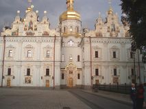 Assumption Cathedral of the Kiev-Pechersk Lavra stock images