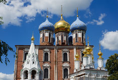 The Cathedral of the Assumption Cathedral Stock Images