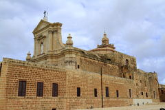 Cathedral of the Assumption of Gozo, Malta. Cathedral of the Assumption of Gozo is a Roman Catholic cathedral in the Cittadella of Victoria in Gozo, Malta Royalty Free Stock Images