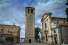 Cathedral of the Assumption of the Holy Virgin,Pula Stock Image