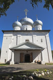 Cathedral of the Assumption of the Holy Virgin in the town of Belozersk, Vologda Region Royalty Free Stock Images